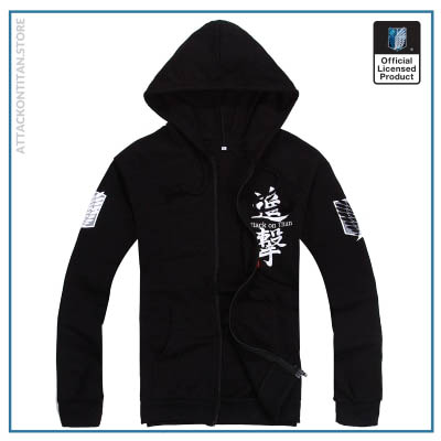 6 Colors Anime Attack on Titan Cosplay Costume Scouting Legion Hoodie Allen Hooded Coat Jacket for 3 - Attack On Titan Store