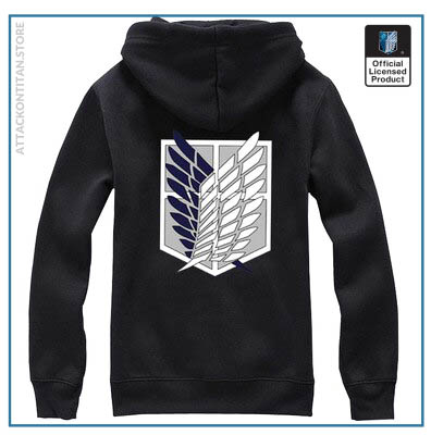 6 Colors Anime Attack on Titan Cosplay Costume Scouting Legion Hoodie Allen Hooded Coat Jacket for 4 - Attack On Titan Store