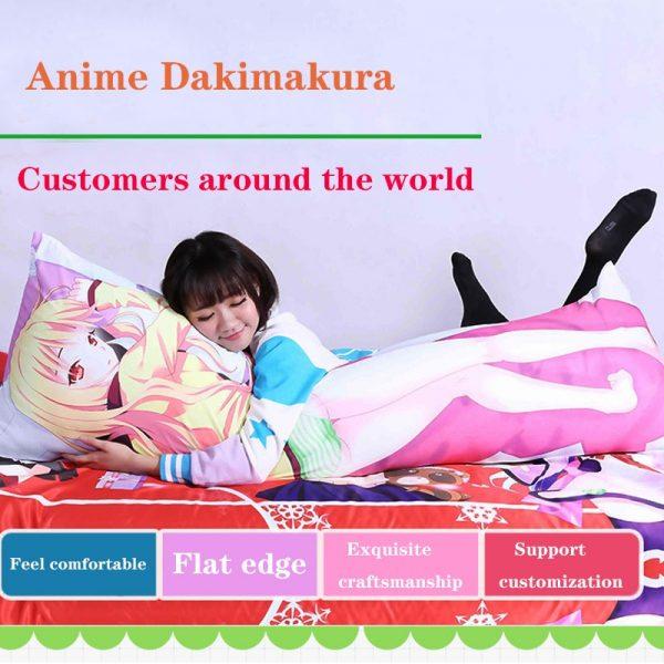 Attack on Titan Anime Pillow Case Dakimakura Waifu Otaku Body Decorative Bedding Pillows Cover Shingeki No 3 - Attack On Titan Store