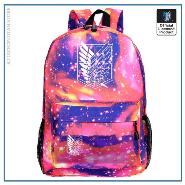 Attack on Titan Backpack Men 2 Women Backbag Travel Mochila Hombre Laptop Back to School Bag 1 - Attack On Titan Store