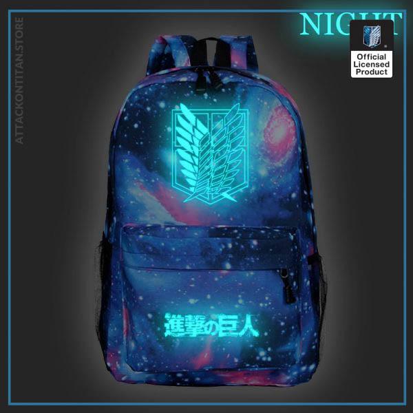 Attack on Titan Backpack Men 2 Women Backbag Travel Mochila Hombre Laptop Back to School Bag 2 - Attack On Titan Store