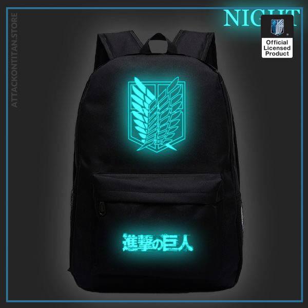 Attack on Titan Backpack Men 2 Women Backbag Travel Mochila Hombre Laptop Back to School Bag 4 - Attack On Titan Store