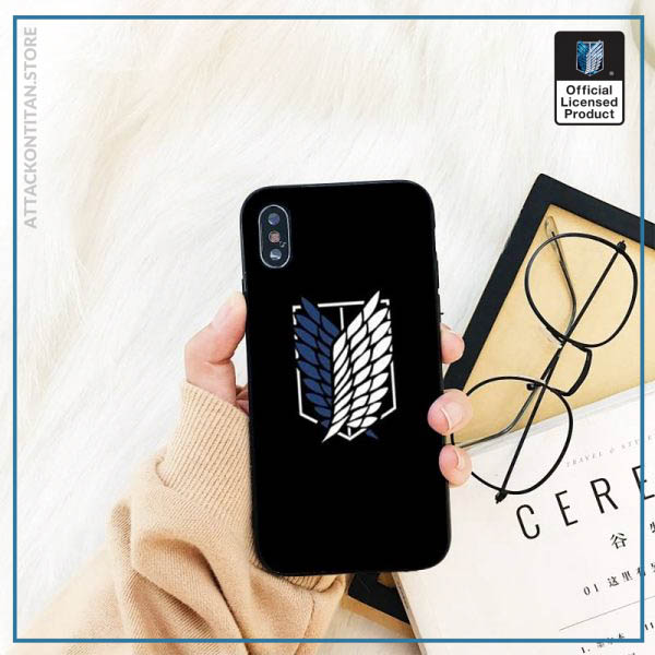 Yinuoda attack on titan DIY Printing Phone Case cover Shell For iPhone 11 8 7 6 3 - Attack On Titan Store