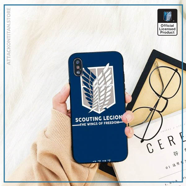 Yinuoda attack on titan DIY Printing Phone Case cover Shell For iPhone 11 8 7 6 4 - Attack On Titan Store