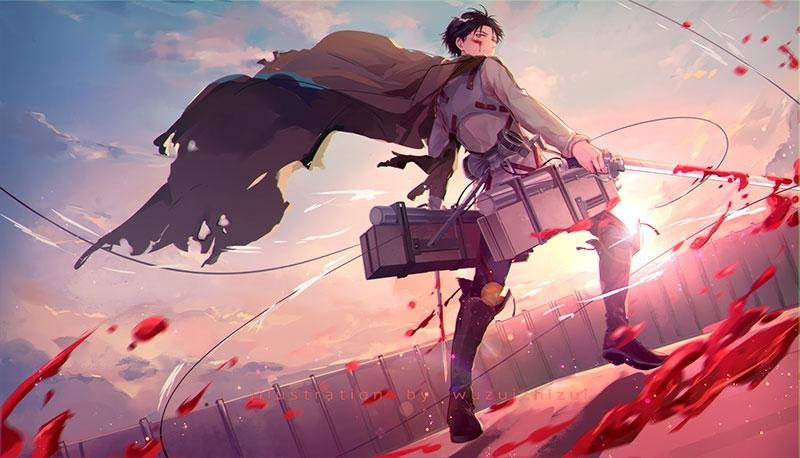 ATTACK ON TITAN: TOP 10 FACTS ABOUT CAPTAIN LEVI ACKERMAN