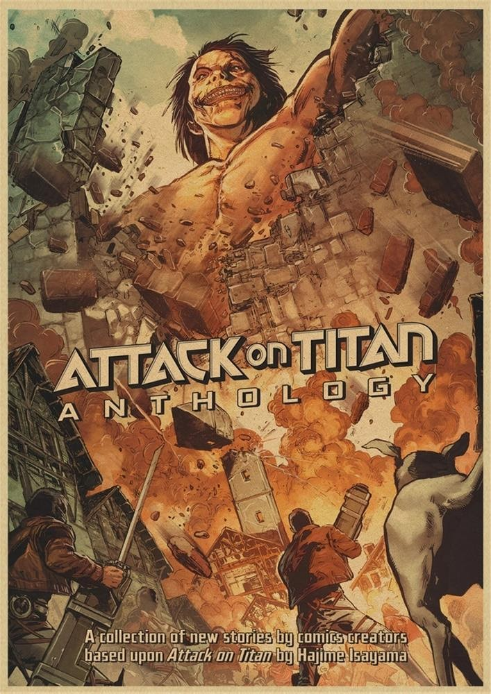 LATEST ATTACK ON TITAN POSTERS COLLECTION