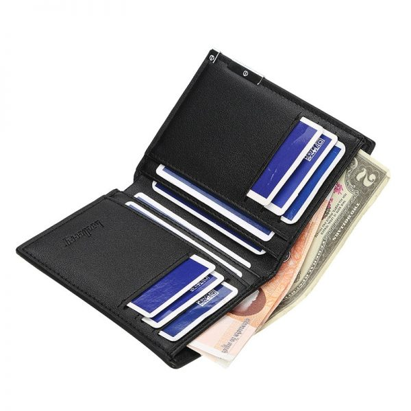 Classic Attack on Titan Printing Pu Leather wallet Men Women Bifold Credit Card Holder Short Purse 1 - Attack On Titan Store
