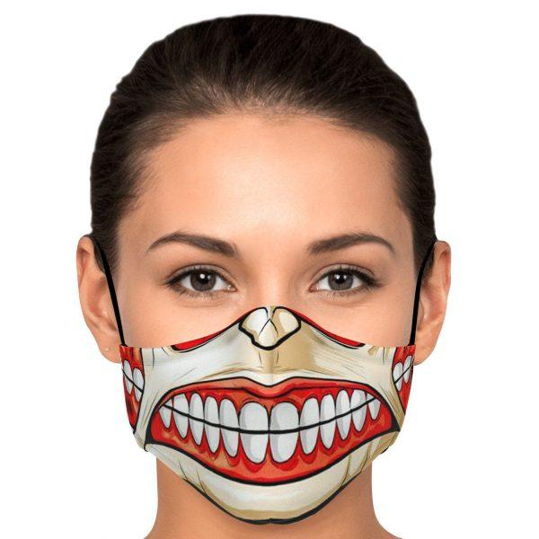colossal titan attack on titan premium carbon filter face mask 733978 - Attack On Titan Store