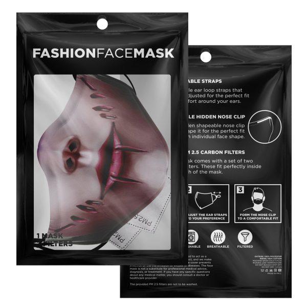 female titan attack on titan premium carbon filter face mask 214653 - Attack On Titan Store