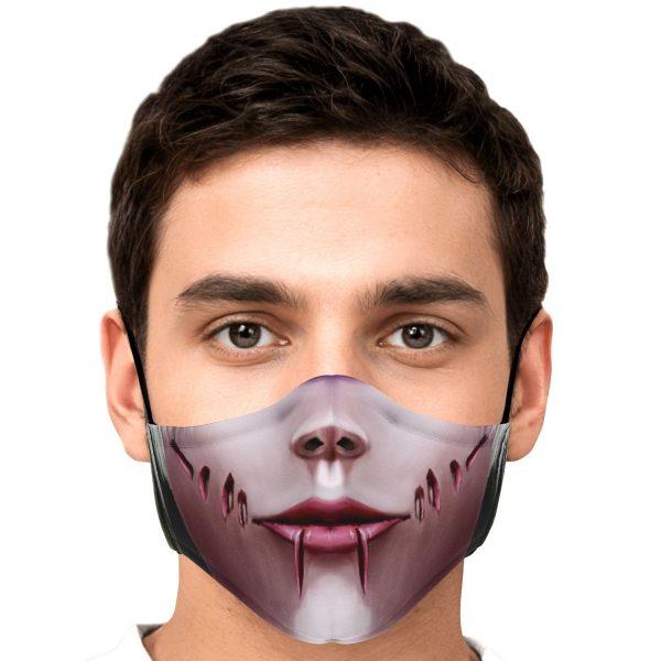 female titan attack on titan premium carbon filter face mask 508526 - Attack On Titan Store