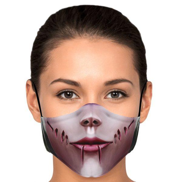 female titan attack on titan premium carbon filter face mask 861322 - Attack On Titan Store