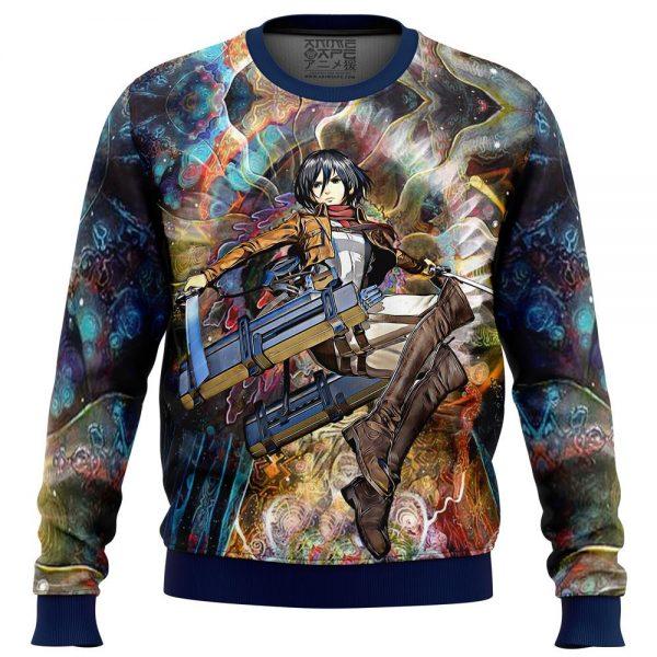 focused mikasa attack on titan sweatshirt 702933 - Attack On Titan Store