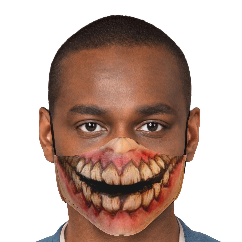 jaw titan v1 attack on titan premium carbon filter face mask 298842 - Attack On Titan Store