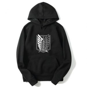 Attack on Titan Scout Regiment Emblem Hoodie Official Attack On Titan Merch
