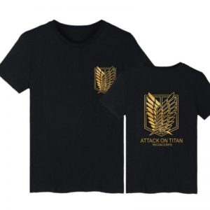 Attack On Titan Survey Corps Emblem T-Shirt Official Attack On Titan Merch