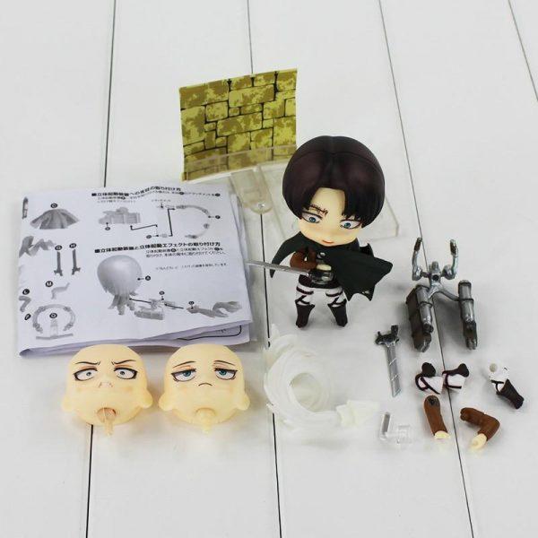 Attack on Titan Levi Nendoroid Official Attack On Titan Merch