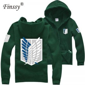 Japan shingeki no kyojin Attack on titan hoodies Official Attack On Titan Merch