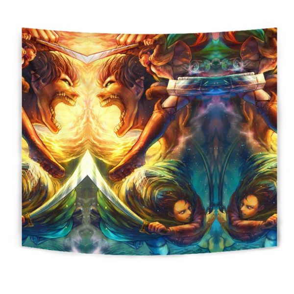 vibrant attack on titan tapestry 715674 - Attack On Titan Store