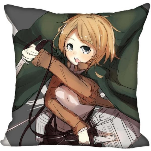 45X45cm 40X40cm one sides Pillow Case Modern Home Decorative Attack on Titan Pillowcase For Living - Attack On Titan Store