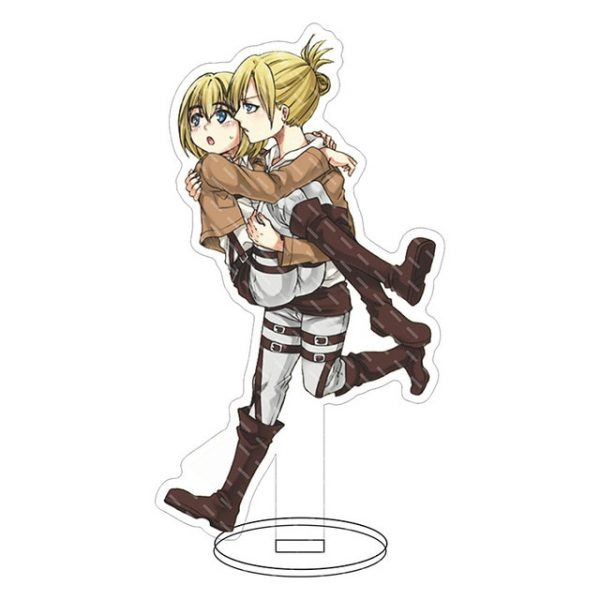 Anime Attack on Titan Acrylic Figure Stand Model Toys two sided Action Desktop Decoration Pendant Toy 11.jpg 640x640 11 - Attack On Titan Store