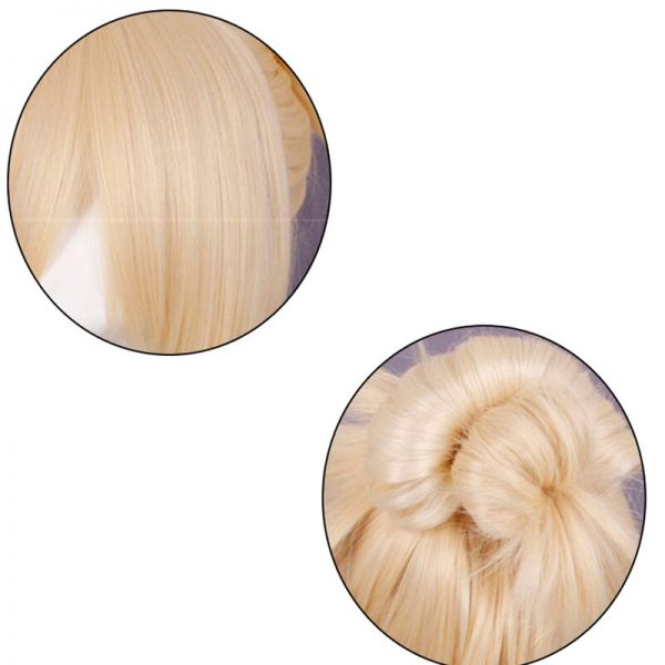 Anime Attack on Titan Cosplay Wig Annie Leonheart Women Girls Blond Synthetic Hair Halloween Party Cosplay 4 - Attack On Titan Store