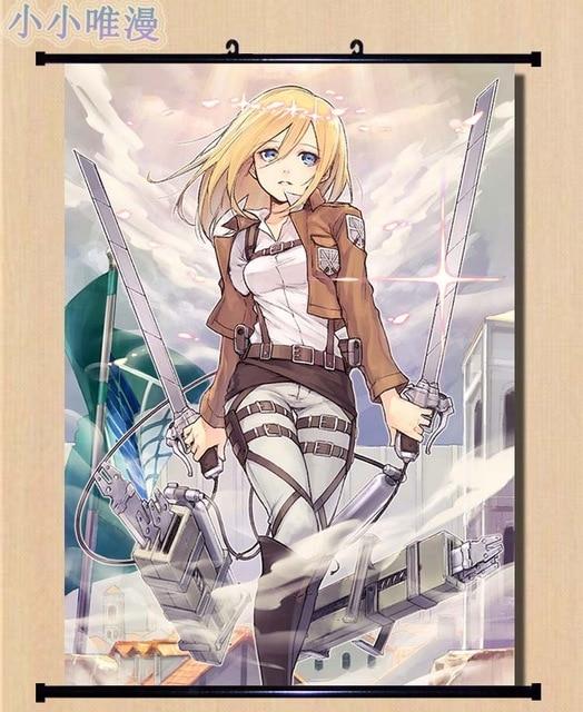 Anime Attack on Titan Shingeki no Kyojin Eren Armin Arlart AnnieLeonheart Krista Lenz Home Decor Wall 6.jpg 640x640 6 - Attack On Titan Store