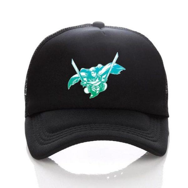Anime Attack on Titan hat Regiment Scout Legion Symbol Black Mesh Trucker Cap Baseball Cap Snapback 4.jpg 640x640 4 - Attack On Titan Store