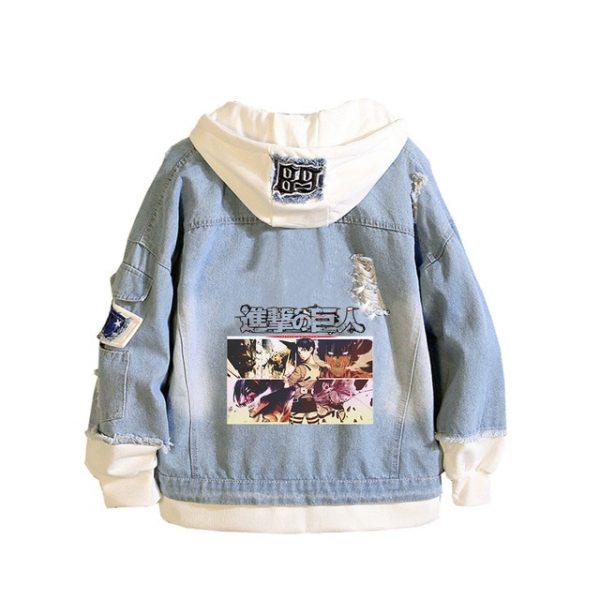 Anime Jeans Jacket Attack On Titan Cartoon Hoodies The Final Season Harajuku Streetwear Fake Two Piece 2.jpg 640x640 2 - Attack On Titan Store