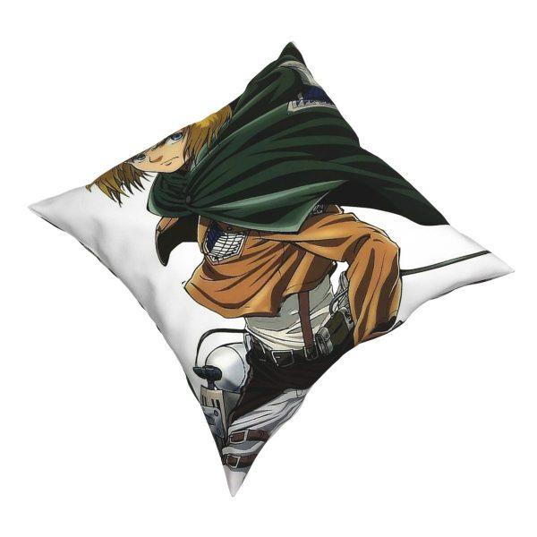 Attack On Titan Manga Armin Arlert SNK Square Pillow Case Throw Pillow Awesome Pillowcover Home Decor 2 - Attack On Titan Store