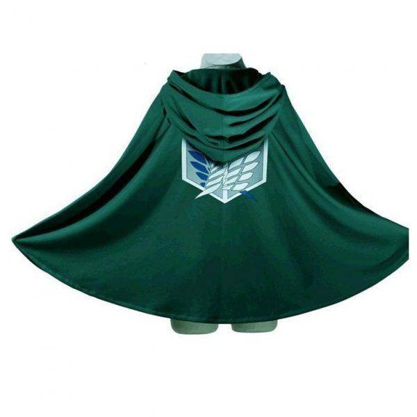 Attack on Titan Anime Cloak Shingeki No Kyojin Cosplay Scouting Legion Wings of Liberty Levi Ackerman 1 - Attack On Titan Store