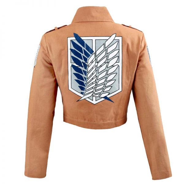 Attack on Titan Armin Arlert Cosplay Costume Anime Cloak Jacket Skirt Shingeki no Kyojin Straps Scouting 3 - Attack On Titan Store