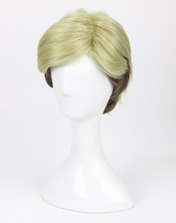 Attack on Titan Erwin Smith Wig Short Blonde Brown Ombre Color Cosplay Wig 2 - Attack On Titan Store