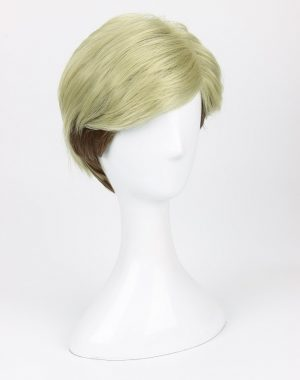 Attack on Titan Erwin Smith Wig Short Blonde Brown Ombre Color Cosplay Wig - Attack On Titan Store