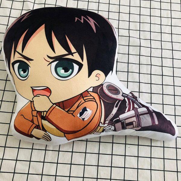 Attack on Titan Fashion Anime Stuffed Plush Pillows Fluffy Pillow Doll Cartoon Toys Unisex Birthday Gifts 1 - Attack On Titan Store