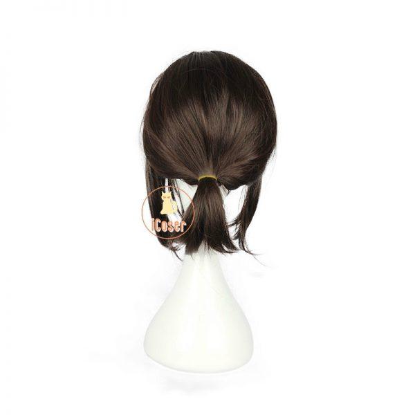 Attack on Titan Hange Zoe Cosplay Wig Dark Brown Synthetic Hair with Wig Cap Hanji Zoe 2 - Attack On Titan Store