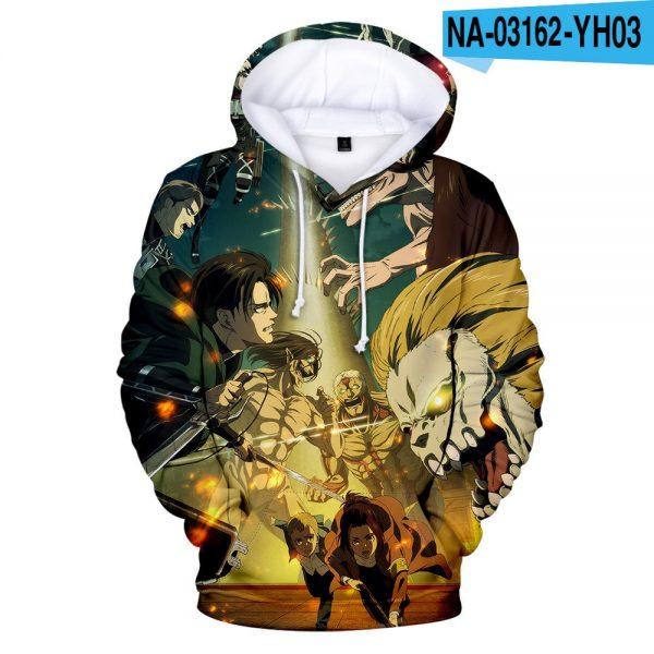 Attack on Titan Hoodies Men women Sweatshirt Anime Hoodie Attack on Titan Men s Clothing Spring - Attack On Titan Store