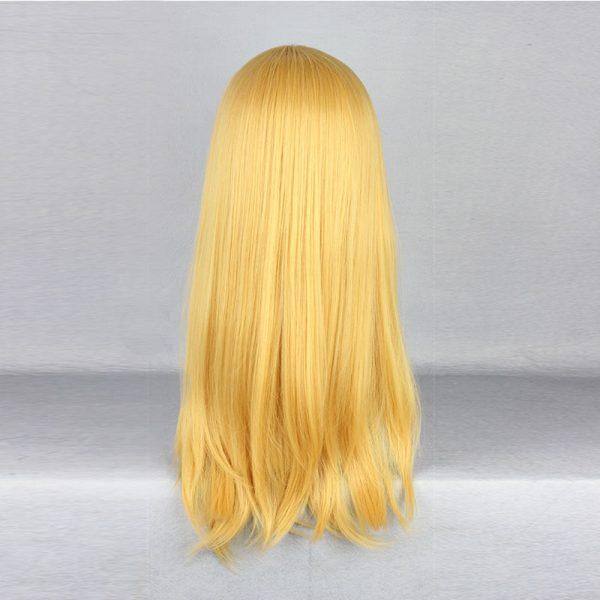Attack on Titan Krista Lenz Christa Short Blonde Kyojin Renz Heat Resistant Cosplay Costume Wig 3 - Attack On Titan Store