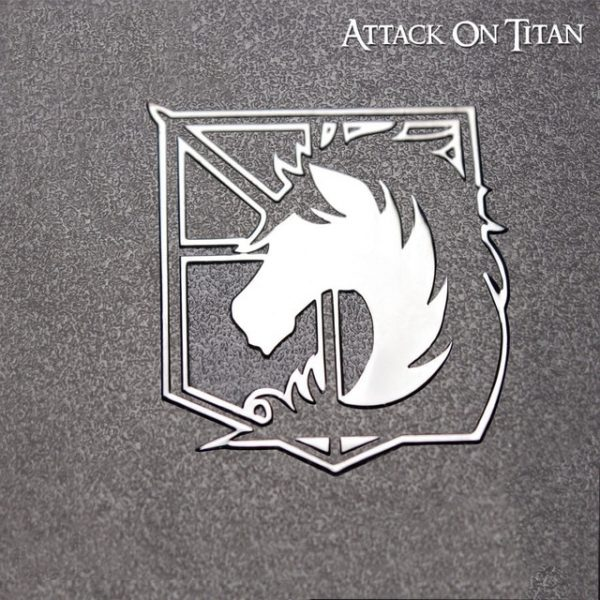 Attack on Titan Metal Stickers Scouting Legion Badge LOGO Wings of Freedom Personality Sticker For Luggage 2.jpg 640x640 2 - Attack On Titan Store