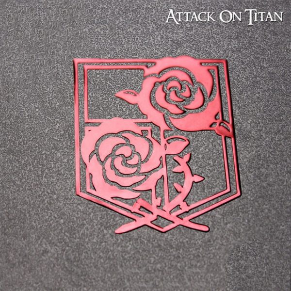 Attack on Titan Metal Stickers Scouting Legion Badge LOGO Wings of Freedom Personality Sticker For Luggage 3.jpg 640x640 3 - Attack On Titan Store