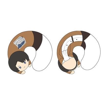 Cute Plush Toy Cartoon Attack on Titan Eren J ger Stereo U Shaped Pillow Soft Stuffed 1.jpg 640x640 1 - Attack On Titan Store