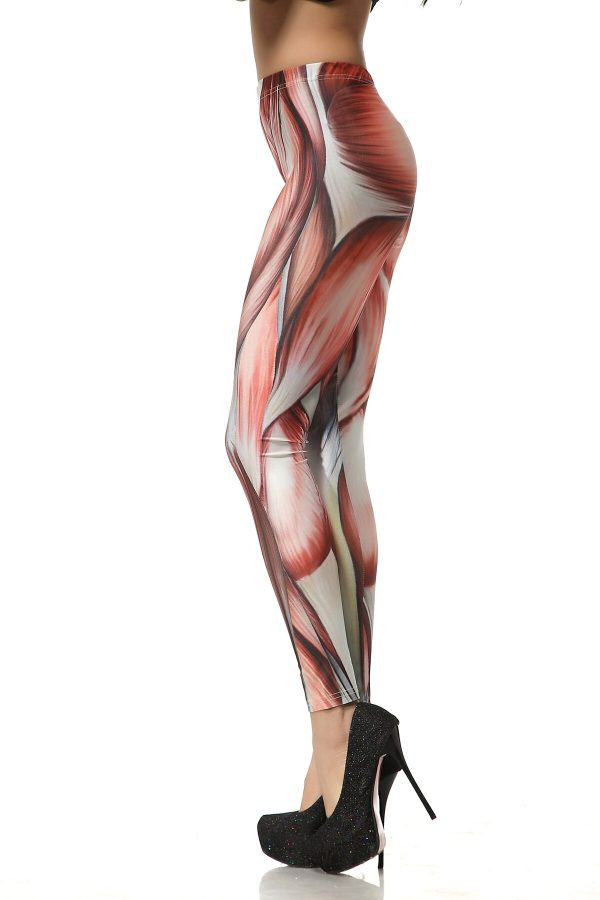 Fashion New Women s Leggings Attack On Titan Anime Printed Tight Streetwear Casual Pants Cosplay Female 1 - Attack On Titan Store