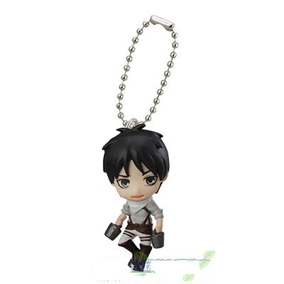 Japanese anime Attack on Titan swing collection 2 capsule toy Eren Jaeger Erwin Smith Levi Ackerman 1 - Attack On Titan Store