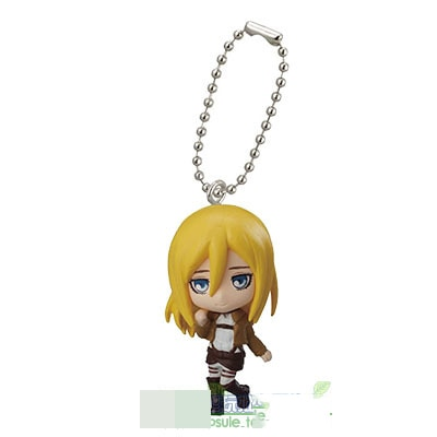 Japanese anime Attack on Titan swing collection 2 capsule toy Eren Jaeger Erwin Smith Levi Ackerman 4 - Attack On Titan Store
