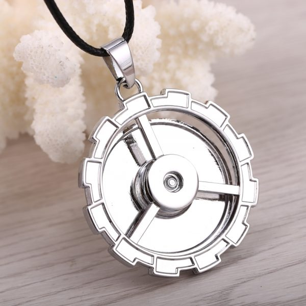 MOSU Hot Anime Attack on Titan Necklace Rotatable Scout Regiment Logo pendant High Quality metal Jewelry 5 - Attack On Titan Store