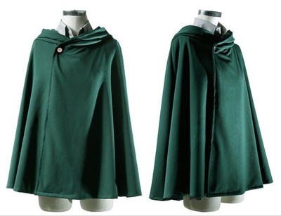 On Sale Anime Attack on Titan Cloak Shingeki no Kyojin Scouting Legion Aren Levi Capes Cosplay 2 - Attack On Titan Store