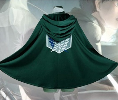 On Sale Anime Attack on Titan Cloak Shingeki no Kyojin Scouting Legion Aren Levi Capes Cosplay 3 - Attack On Titan Store