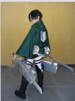 On Sale Anime Attack on Titan Cloak Shingeki no Kyojin Scouting Legion Aren Levi Capes Cosplay 4 - Attack On Titan Store