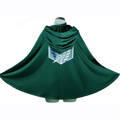 On Sale Anime Attack on Titan Cloak Shingeki no Kyojin Scouting Legion Aren Levi Capes Cosplay - Attack On Titan Store