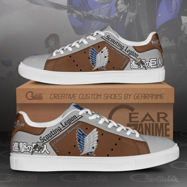 Scouting legion Skate Sneakers - Attack On Titan Store